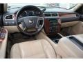 Ebony/Light Cashmere 2007 Chevrolet Avalanche Interiors