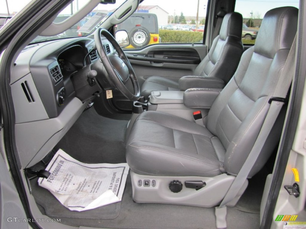 medium flint interior 2005 ford excursion xlt 4x4 photo 57483748
