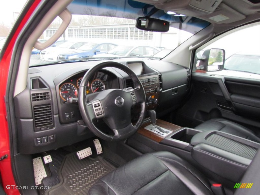 2008 nissan titan le crew cab 4x4 interior photos. Black Bedroom Furniture Sets. Home Design Ideas