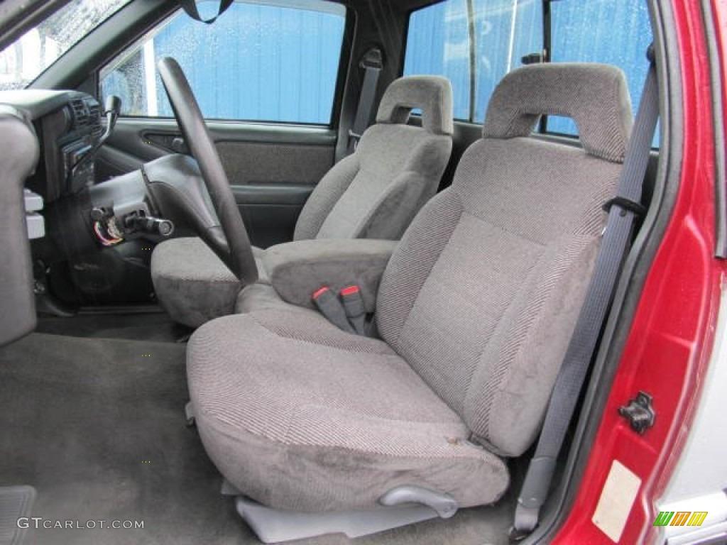 1995 Chevy S10 Extended Cab 1994 Chevrolet S10 LS Regular Cab Interior Color Photos   GTCarLot.com