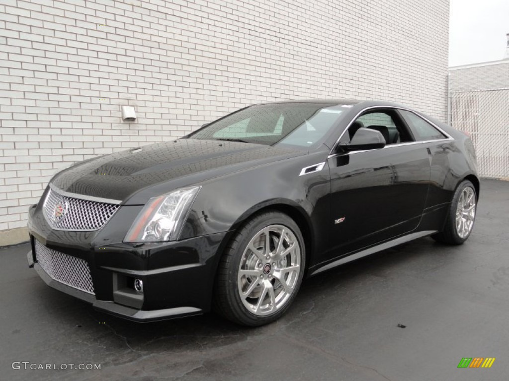 black diamond tricoat 2012 cadillac cts v coupe exterior photo 57493459. Black Bedroom Furniture Sets. Home Design Ideas