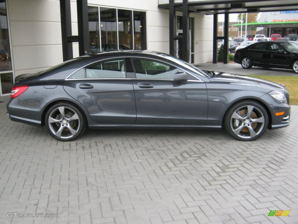 Indium grey metallic 2012 mercedes benz cls 550 coupe for 2012 mercedes benz cls 550