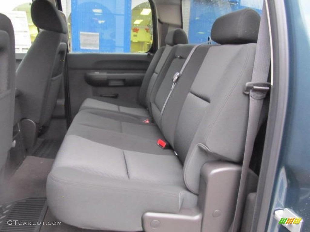 2012 Silverado 1500 LT Crew Cab 4x4 - Blue Granite Metallic / Ebony photo #9