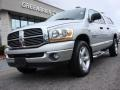 2006 Bright Silver Metallic Dodge Ram 1500 Big Horn Edition Quad Cab 4x4  photo #1
