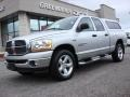 2006 Bright Silver Metallic Dodge Ram 1500 Big Horn Edition Quad Cab 4x4  photo #2