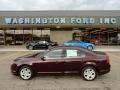 2011 Bordeaux Reserve Metallic Ford Fusion SE V6  photo #1