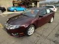 2011 Bordeaux Reserve Metallic Ford Fusion SE V6  photo #8