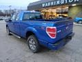 Blue Flame Metallic - F150 STX SuperCab 4x4 Photo No. 2