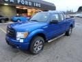 Blue Flame Metallic - F150 STX SuperCab 4x4 Photo No. 8