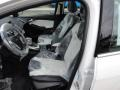 2012 White Platinum Tricoat Metallic Ford Focus Titanium Sedan  photo #10