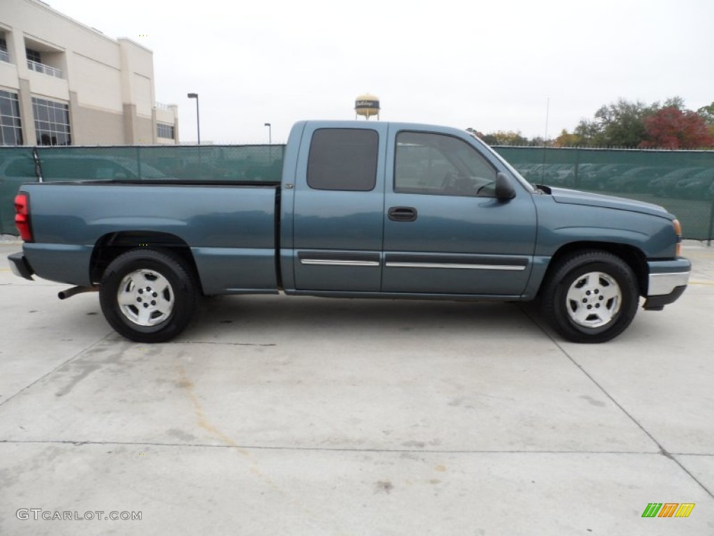 blue granite metallic 2006 chevrolet silverado 1500 lt extended cab exterior photo 57510439. Black Bedroom Furniture Sets. Home Design Ideas