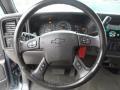 Medium Gray Steering Wheel Photo for 2006 Chevrolet Silverado 1500 #57510763