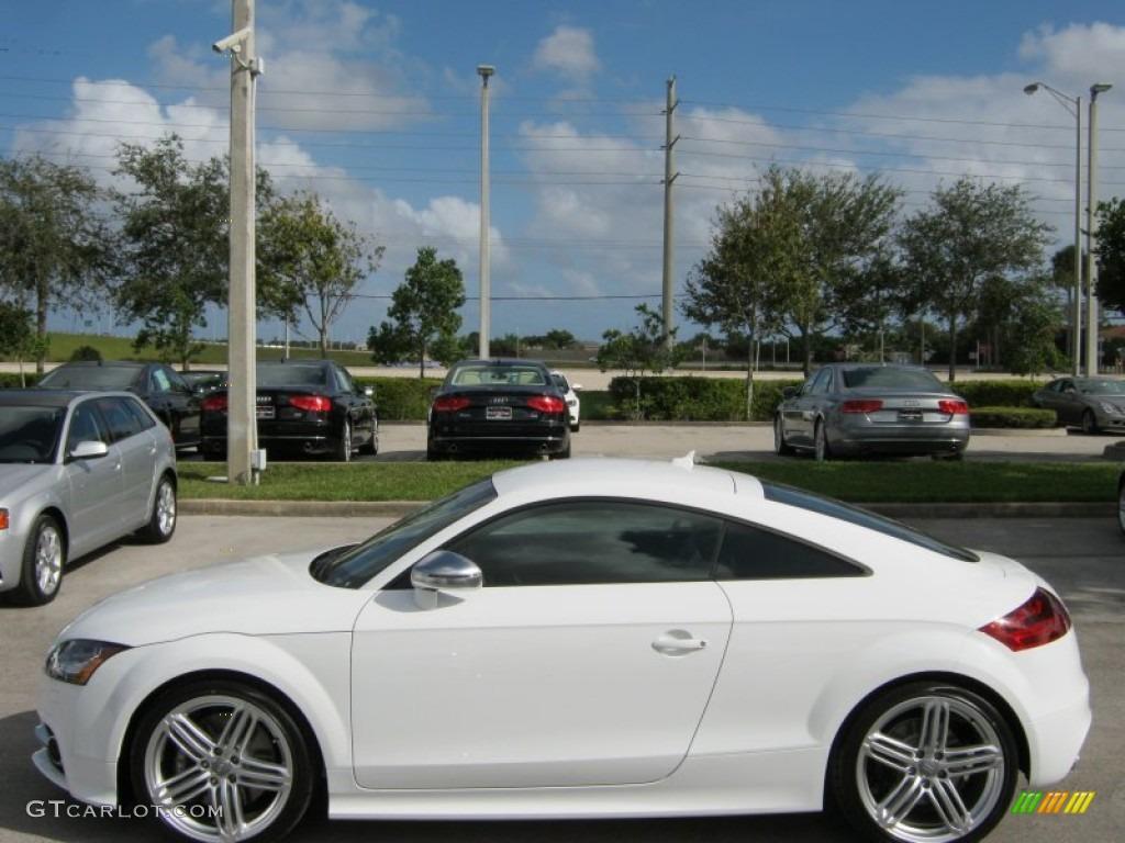 Ibis White 2012 Audi TT S 2.0T quattro Coupe Exterior Photo #57517561   GTCarLot.com