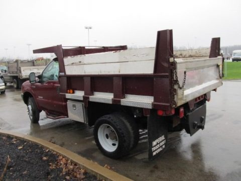 2004 Ford F450 Super Duty XL Regular Cab Chassis Dump Truck Data, Info and Specs
