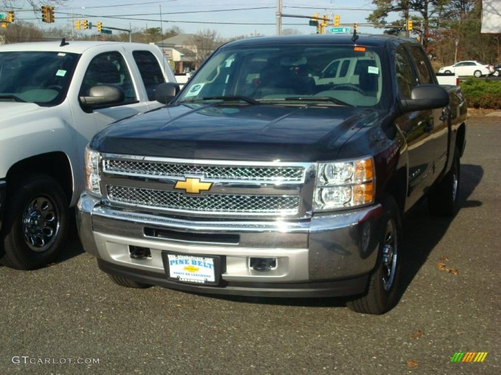 2012 Silverado 1500 LS Crew Cab 4x4 - Black / Dark Titanium photo #1