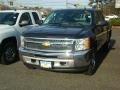 2012 Black Chevrolet Silverado 1500 LS Crew Cab 4x4  photo #1
