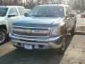2012 Blue Granite Metallic Chevrolet Silverado 1500 LS Crew Cab 4x4  photo #1