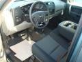 2012 Blue Granite Metallic Chevrolet Silverado 1500 LS Crew Cab 4x4  photo #4