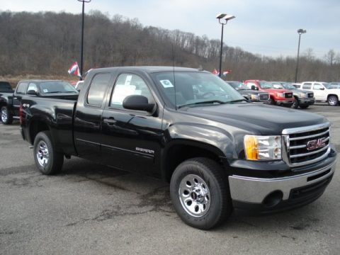 2012 gmc sierra 1500 sl extended cab 4x4 data info and specs. Black Bedroom Furniture Sets. Home Design Ideas