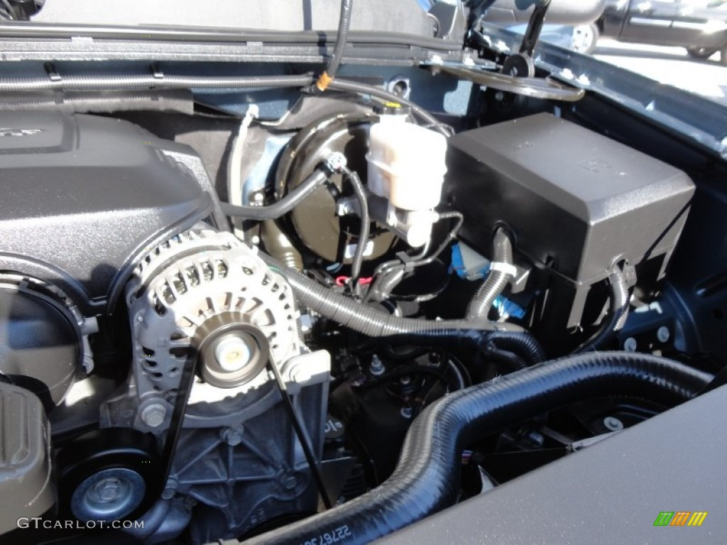 Knock Sensors Replacement On Chevy Silverado 1500 V8 Engine Diagram