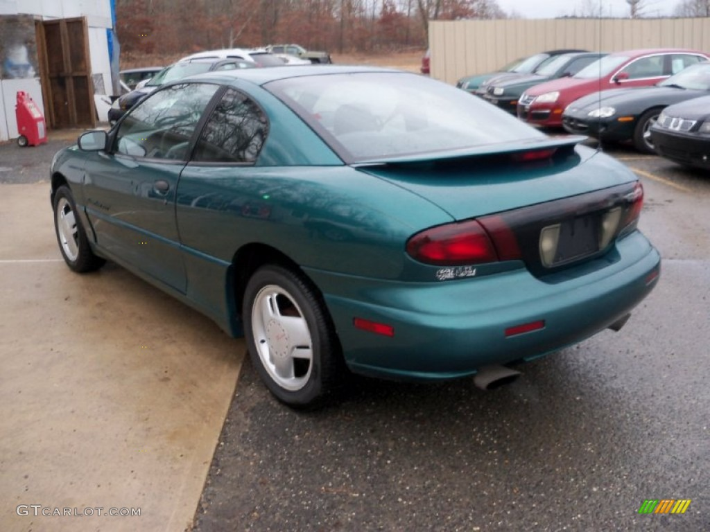 1998 Medium Sea Green Metallic Pontiac Sunfire Gt Coupe 57486535 Photo 5 Gtcarlot Com Car Color Galleries