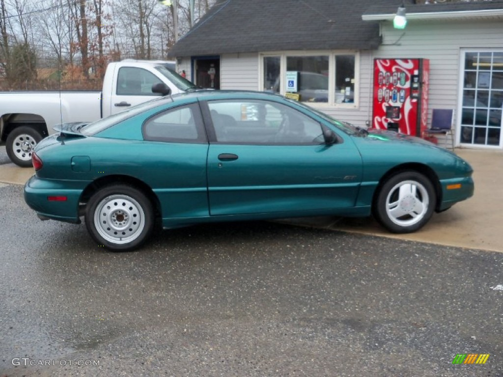 1998 Medium Sea Green Metallic Pontiac Sunfire Gt Coupe 57486535 Photo 7 Gtcarlot Com Car Color Galleries