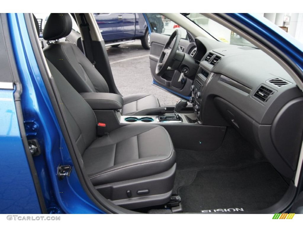 Charcoal Black Interior 2012 Ford Fusion Sport Photo 57536293
