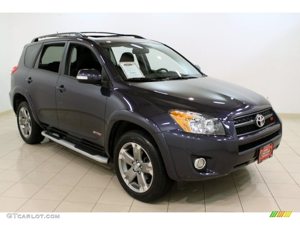 2009 elusive blue metallic toyota rav4 sport v6 4wd. Black Bedroom Furniture Sets. Home Design Ideas