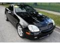 2001 Black Mercedes-Benz SLK 230 Kompressor Roadster  photo #16