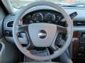 2007 Chevrolet Silverado 1500 Light Titanium/Dark Titanium Gray Interior Steering Wheel Photo