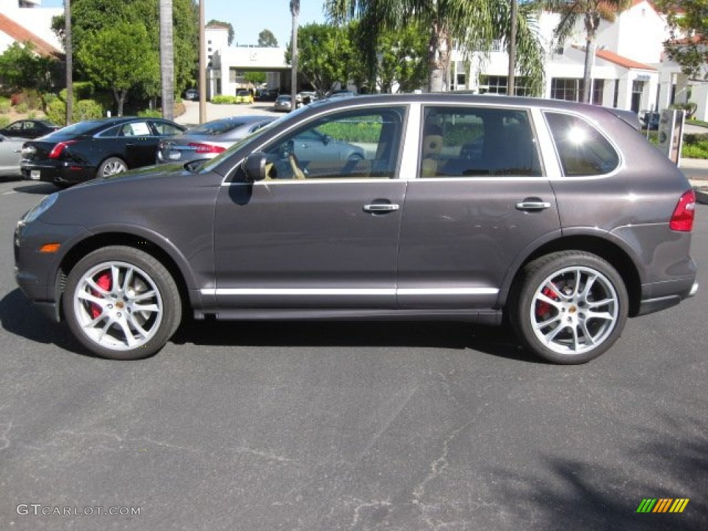 lava grey metallic 2009 porsche cayenne turbo s exterior. Black Bedroom Furniture Sets. Home Design Ideas