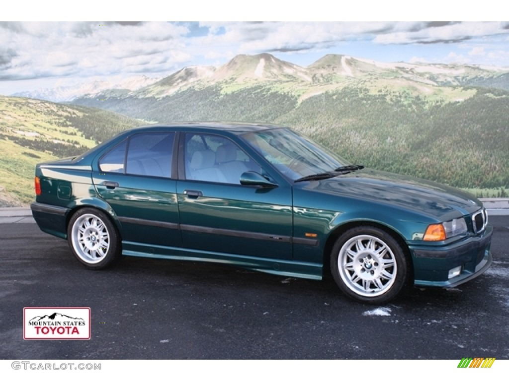 1997 boston green metallic bmw m3 sedan 57539622. Black Bedroom Furniture Sets. Home Design Ideas