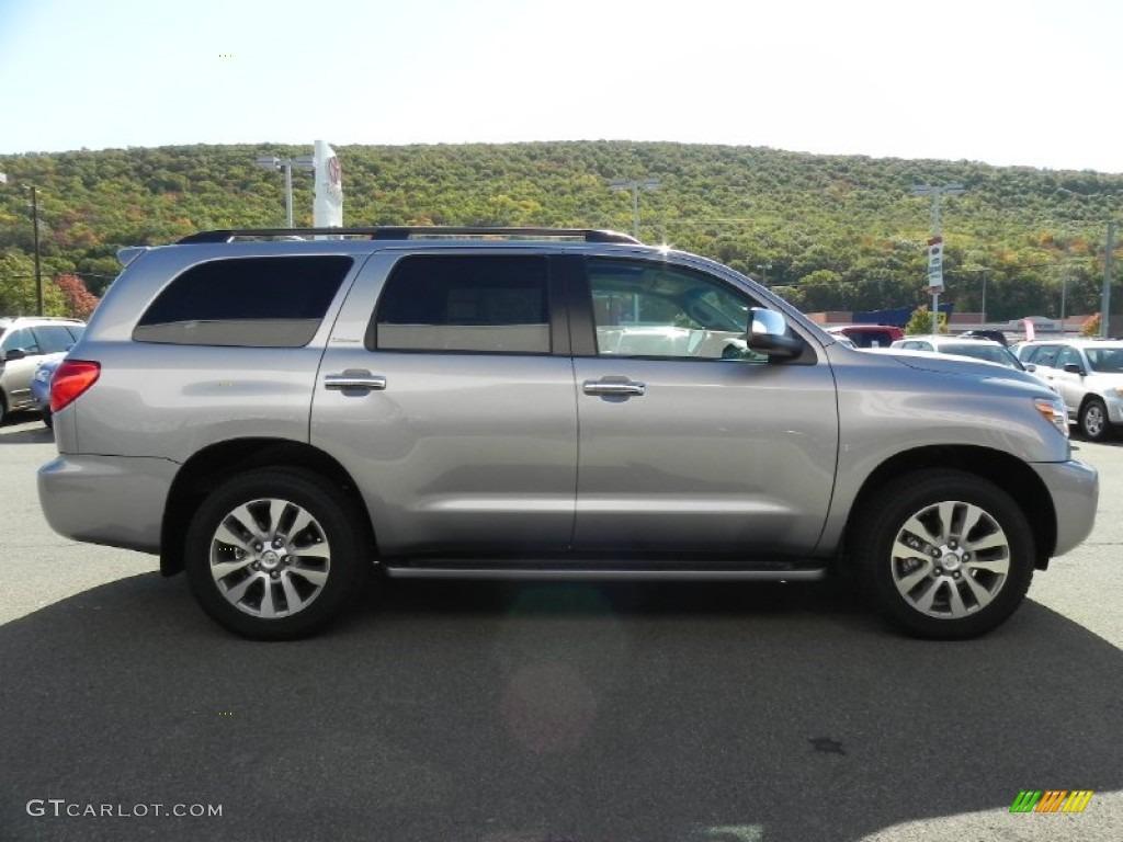 2011 Silver Sky Metallic Toyota Sequoia Limited 4wd