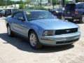2007 Windveil Blue Metallic Ford Mustang V6 Deluxe Convertible  photo #3