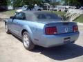 2007 Windveil Blue Metallic Ford Mustang V6 Deluxe Convertible  photo #8