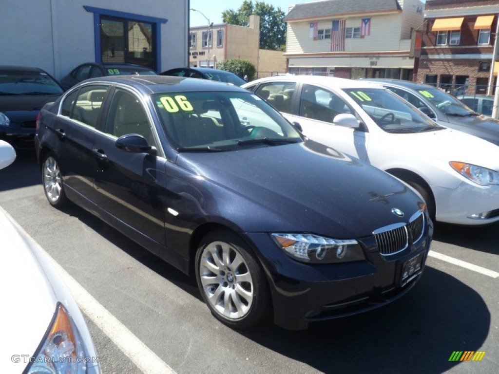 2006 orient blue metallic bmw 3 series 330xi sedan. Black Bedroom Furniture Sets. Home Design Ideas