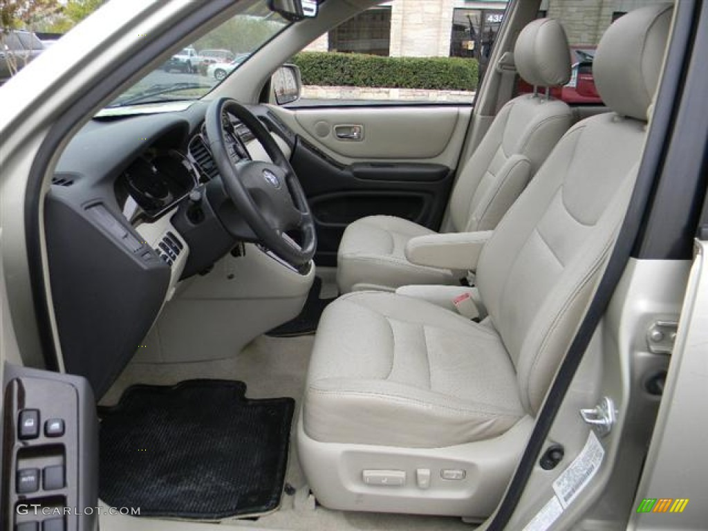 2001 Toyota Highlander V6 Interior Photos