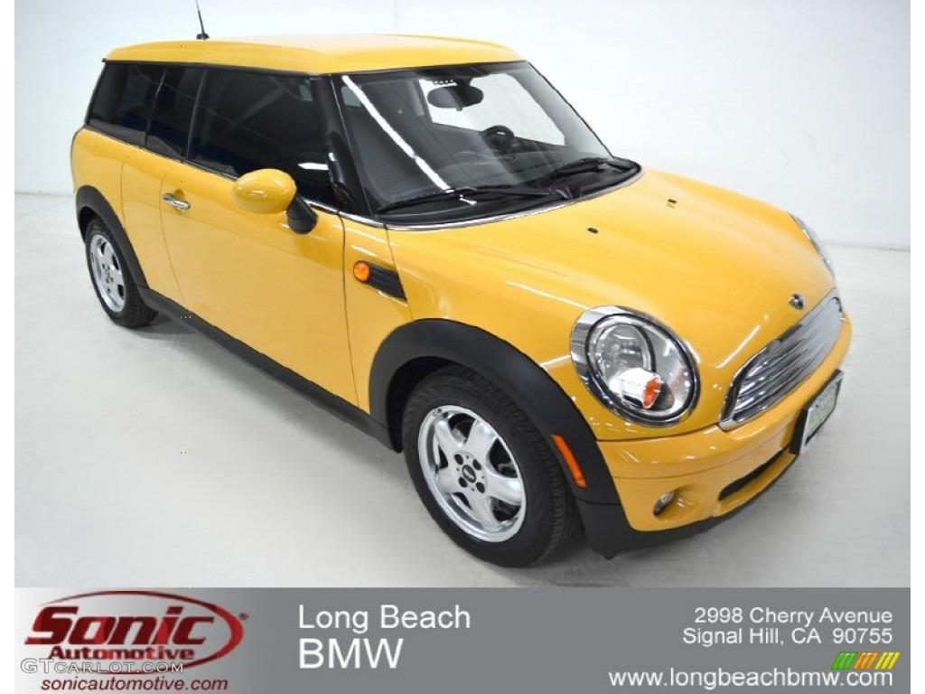 2009 Mellow Yellow Mini Cooper Clubman 57539847 Gtcarlotcom