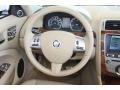 2011 Jaguar XK Caramel/Caramel Interior Steering Wheel Photo