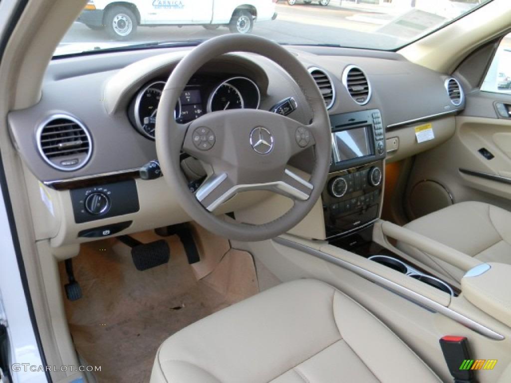 Cashmere Interior 2012 Mercedes Benz Gl 350 Bluetec 4matic Photo 57611936