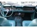 1966 Ford Mustang Turquoise Interior Dashboard Photo