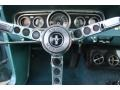 1966 Ford Mustang Turquoise Interior Steering Wheel Photo