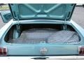 1966 Ford Mustang Turquoise Interior Trunk Photo