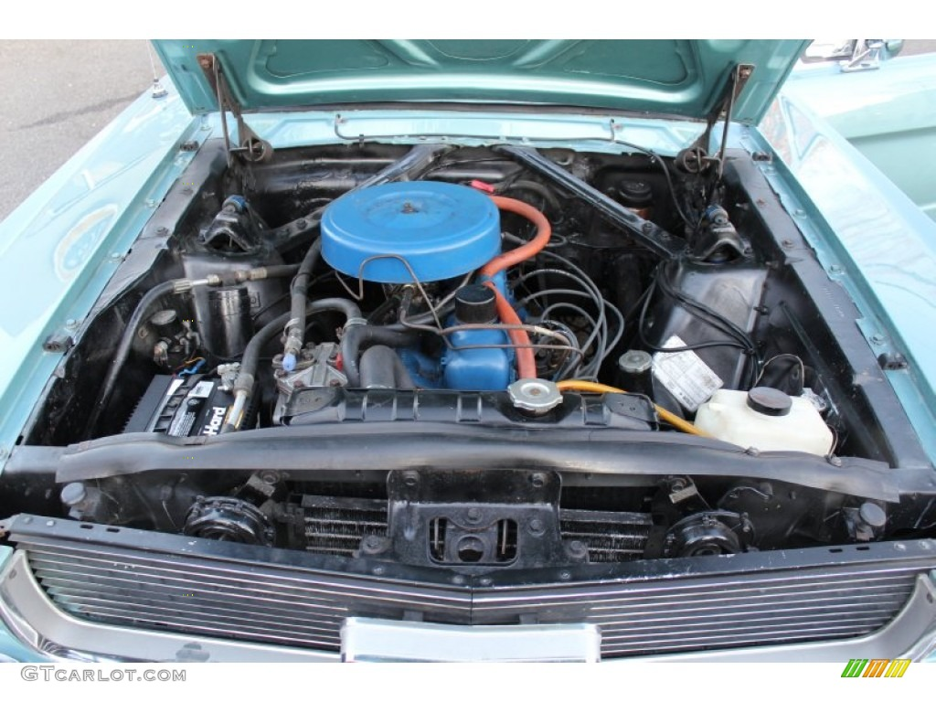 1966 Ford Mustang Coupe 200 ci. Inline 6 cylinder Engine Photo #57613078