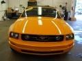 2007 Grabber Orange Ford Mustang V6 Deluxe Convertible  photo #19
