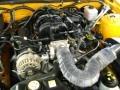 2007 Grabber Orange Ford Mustang V6 Deluxe Convertible  photo #20