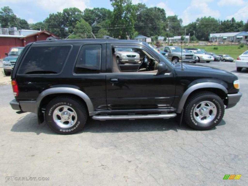 Ebony Black 1998 Ford Explorer Sport 4x4 Exterior Photo