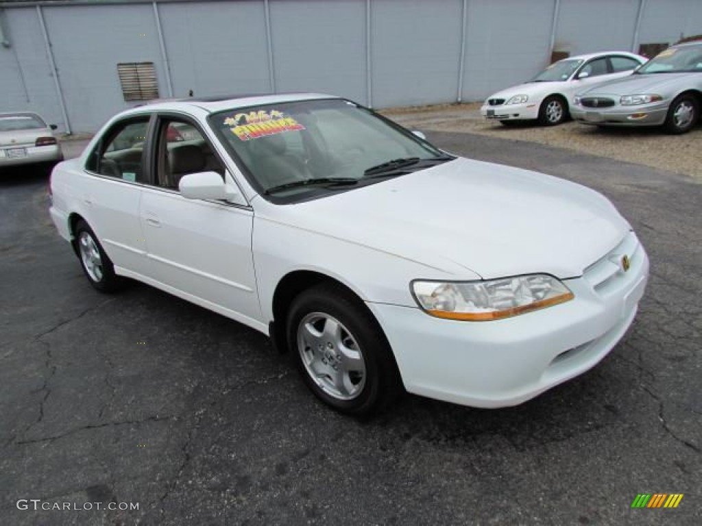 1998 Taffeta White Honda Accord Ex V6 Sedan 57611124