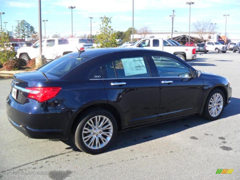 2012 Blackberry Pearl Coat Chrysler 200 Limited Sedan ...  |2012 Chrysler 200 Limited Blackberry Pearl