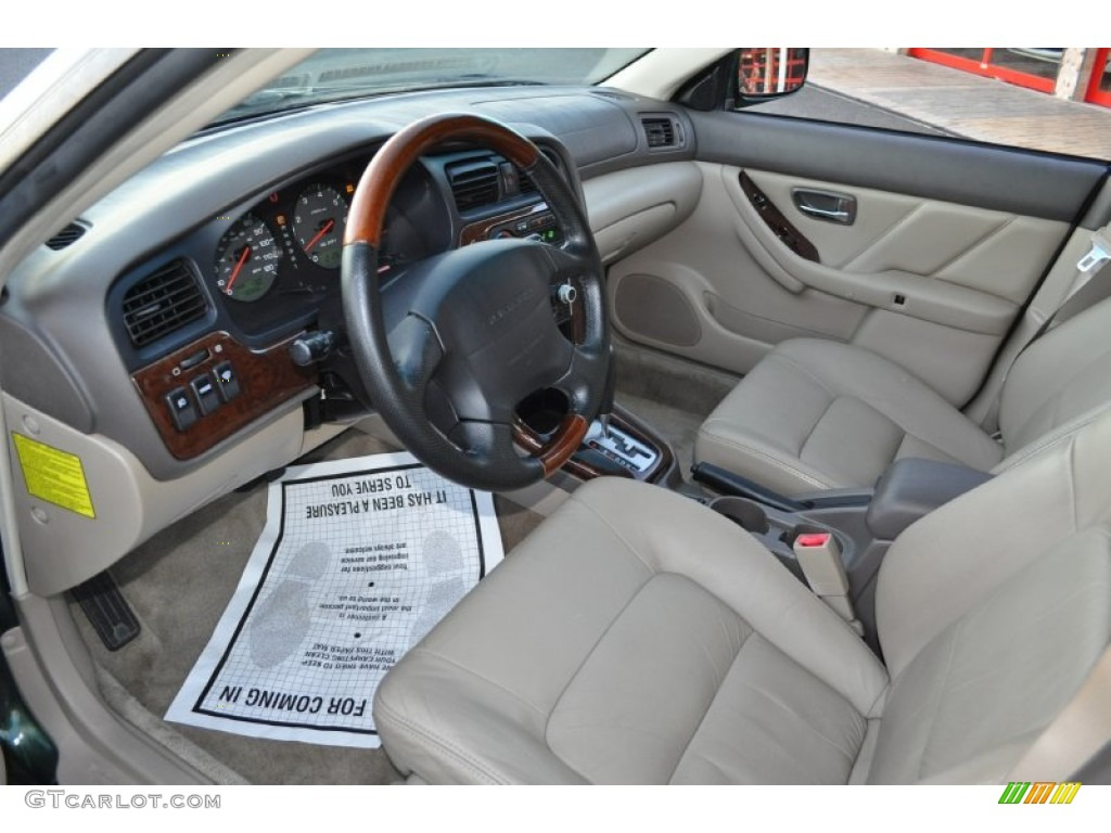 Beige Interior 2002 Subaru Outback VDC Wagon Photo #57626779 ...
